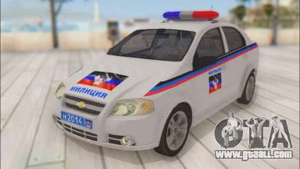 Chevrolet Aveo Police DND for GTA San Andreas