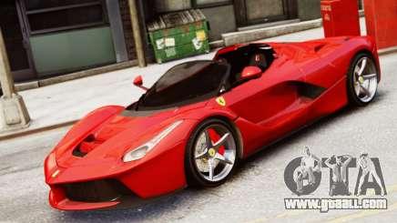 Ferrari LaFerrari Spider for GTA 4