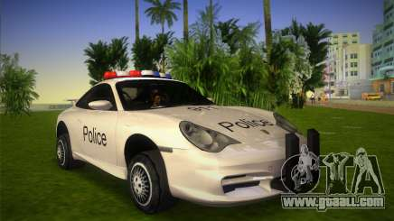 Porsche 911 GT3 Police for GTA Vice City