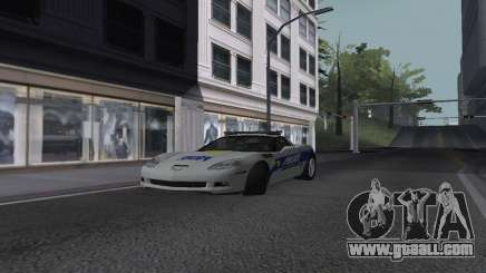 Chevrolet Corvette Z06 Police for GTA San Andreas