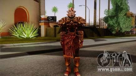 Kratos God Armor for GTA San Andreas