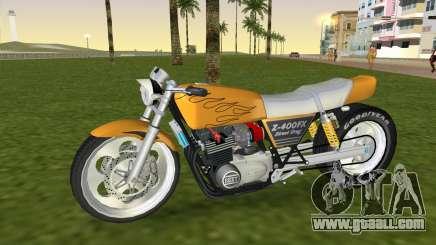 Kawasaki Z400FX Street Drag Racer for GTA Vice City