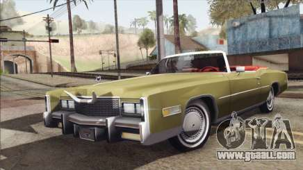 Cadillac Eldorado Stock for GTA San Andreas