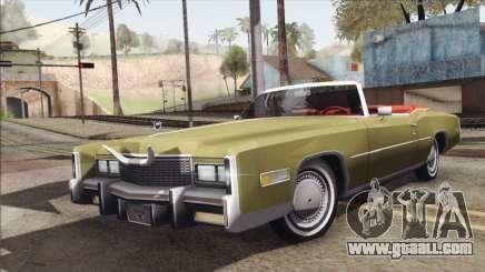 Cadillac Eldorado Stock for GTA San Andreas