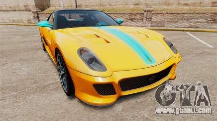 Ferrari 599 GTO PJ2 for GTA 4