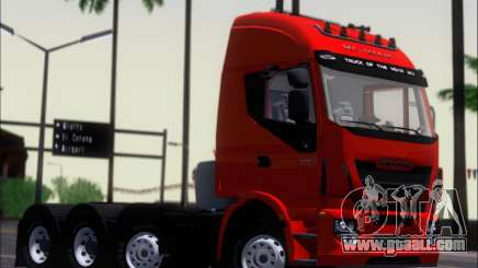 Iveco Stralis HiWay 560 E6 8x4 for GTA San Andreas