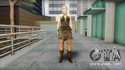 Sarah from Dead or Alive 5 v3 for GTA San Andreas
