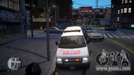 Israel MDA Ambulance for GTA 4