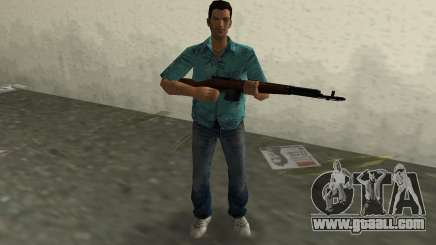 Self-Loading Rifle Tokareva for GTA Vice City