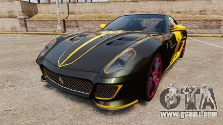 Ferrari 599 GTO PJ3 for GTA 4