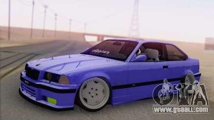 BMW M3 E36 Coupe Slammed for GTA San Andreas
