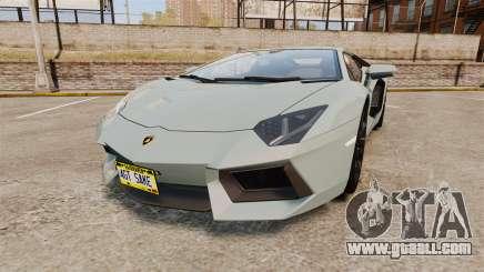 Lamborghini Aventador LP700-4 v2 [RIV] for GTA 4