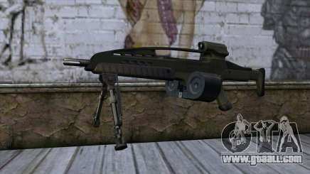 XM8 LMG Olive for GTA San Andreas