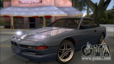 BMW E31 850CSi 1996 for GTA San Andreas