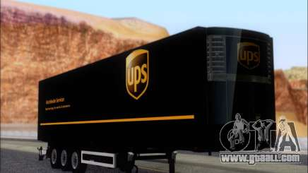 Прицеп United Parcel Service for GTA San Andreas