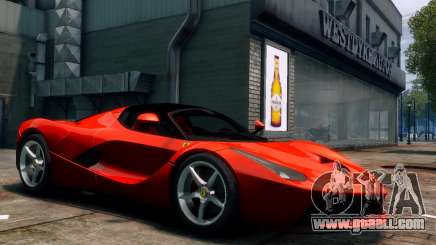 Ferrari LaFerrari for GTA 4