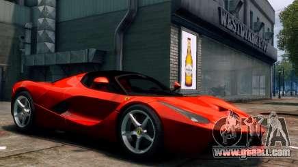 Ferrari LaFerrari for GTA 4