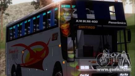 Busscar Jum Buss 400 Volvo B10R Pullman Del Sur for GTA San Andreas