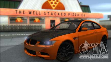 BMW M3 E92 Soft Tuning for GTA San Andreas