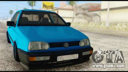 Volkswagen MK3 deLidoLu Edit for GTA San Andreas