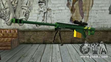 M82A3 Brazil Camo for GTA San Andreas