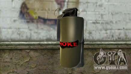 Smoke Grenade for GTA San Andreas