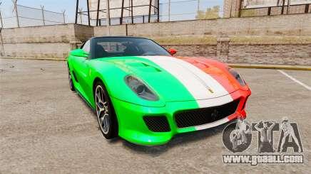 Ferrari 599 GTO PJ4 for GTA 4