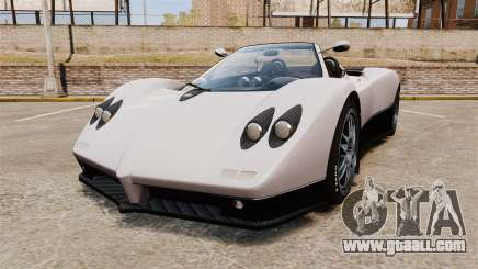 Pagani Zonda C12S Roadster 2001 v1.1 PJ2 for GTA 4