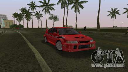 Mitsubishi Lancer Evolution 6 Tommy Makinen Edit for GTA Vice City