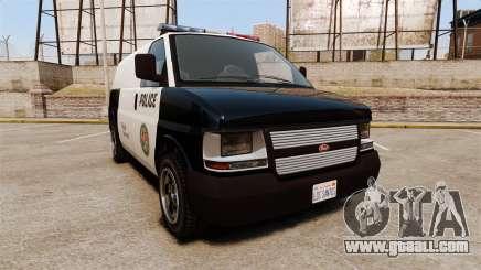 Vapid Speedo Los Santos Police [ELS] for GTA 4