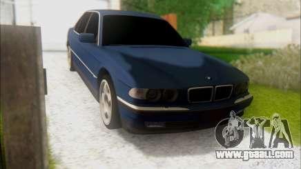 BMW 7 E38 for GTA San Andreas