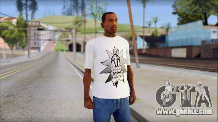 Spray Can Comic T-Shirt for GTA San Andreas