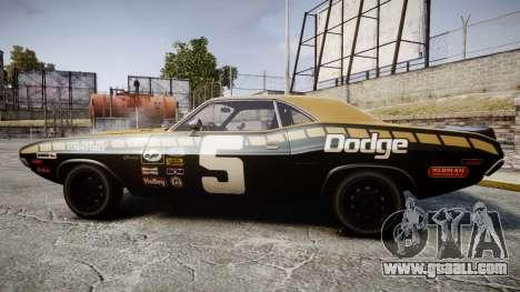 Dodge Challenger 1971 v2.2 PJ6 for GTA 4 left view