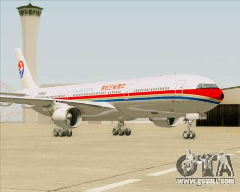 Airbus A330-300 China Eastern Airlines for GTA San Andreas back left view