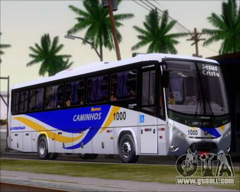 Marcopolo Ideale 770 - Volksbus 17-230 EOD for GTA San Andreas left view