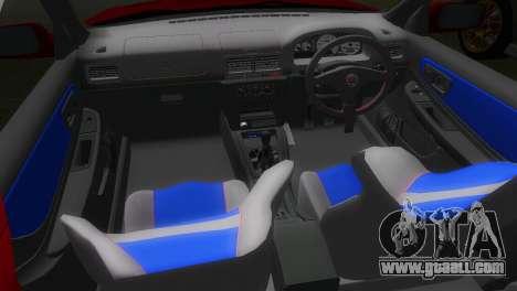 Subaru Impreza WRX STI GC8 22B for GTA Vice City back view