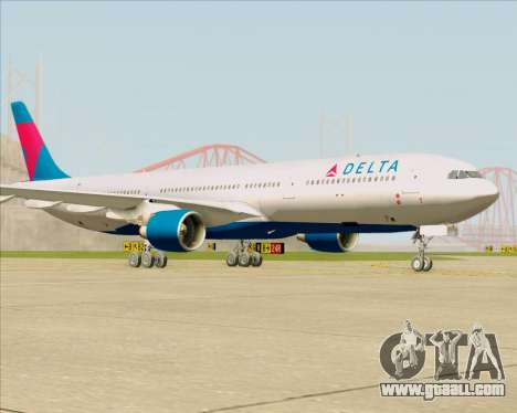 Airbus A330-300 Delta Airlines for GTA San Andreas left view