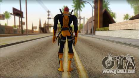 Xmen Deadpool The Game Cable for GTA San Andreas second screenshot