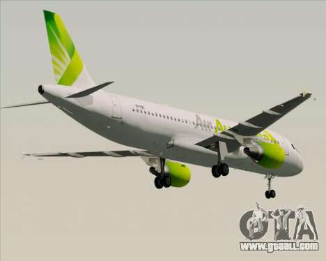 Airbus A320-200 Air Australia for GTA San Andreas engine