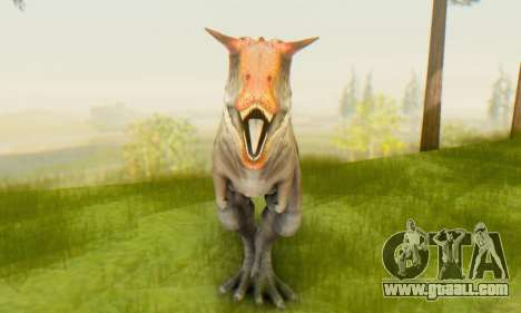 Carnotaurus for GTA San Andreas third screenshot