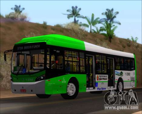 Caio Induscar Millennium BRT Viacao Gato Preto for GTA San Andreas left view