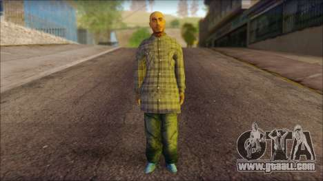 Los Aztecas Gang Skin v1 for GTA San Andreas