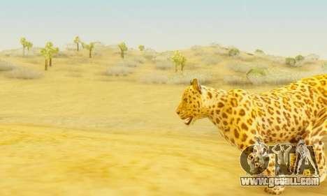 Leopard (Mammal) for GTA San Andreas forth screenshot