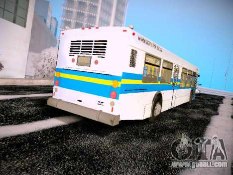 NewFlyer D40LF TransLink Vancouver BC for GTA San Andreas right view