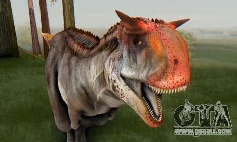 Carnotaurus for GTA San Andreas