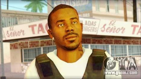 New Grove Street Family Skin v5 for GTA San Andreas third screenshot