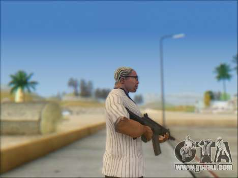 Israeli carbine ACE 21 for GTA San Andreas fifth screenshot