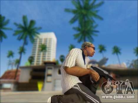 Uzi for GTA San Andreas second screenshot
