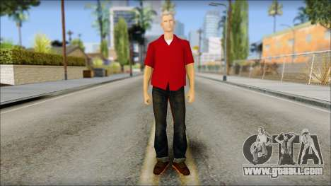 Biff from Back to the Future 1985 for GTA San Andreas
