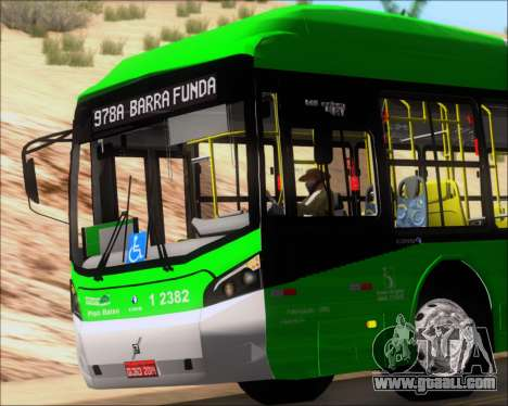 Caio Induscar Millennium BRT Viacao Gato Preto for GTA San Andreas upper view